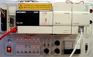 Стенд контроллера MELSEC, автоматизация