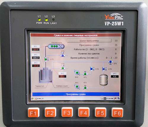 VP-25W1 SCADA TRACE MODE