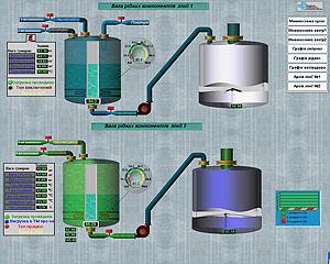Автоматизация производства ПВХ. Операторский интерфейс в SCADA TRACE MODE