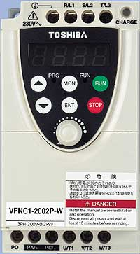 Toshiba Tosvert SCADA TRACE MODE supported device 200